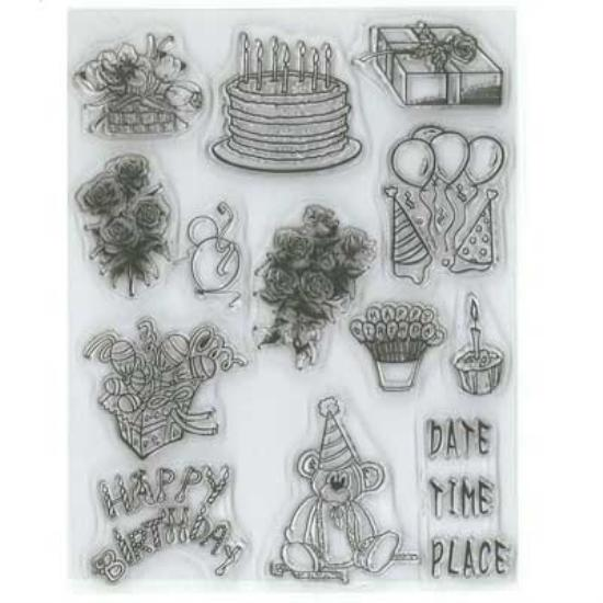 Picture of Clear Stamp Birthday