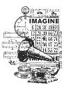 Picture of Vintage Clear Stamp Imagine