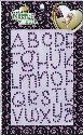 Picture of Rhinestone Alphabets Purple