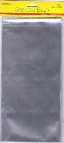 Picture of Sealable Bags Square Open 20Pk