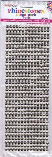 Picture of Mega Pack Rhinnestones 504Pk 6mm Champagne