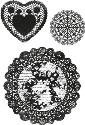 Picture of Secret Admirer Clear Stamp Doilies