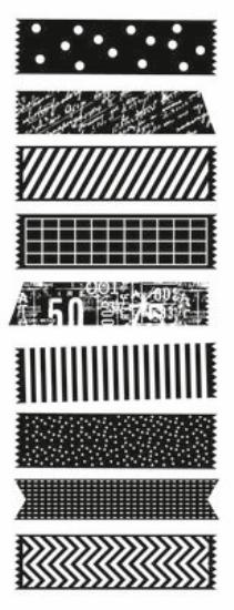 Picture of Kaiser Clear Stamp Decorative Tape Pieces