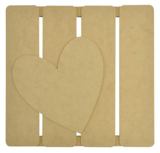 Picture of Kaiser 3D Wall Art - Heart