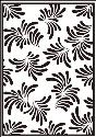 Picture of Portacraft Embossing Folder Petal Sprays 15cm x 10cm