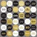 Picture of A Touch of Gold Sticker Sheet