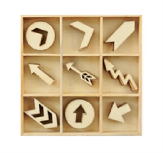 Picture of Kaiser Wooden Flourishes - Arrows