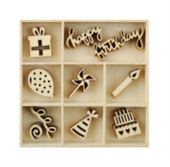 Picture of Kaiser Wooden Flourishes - Party