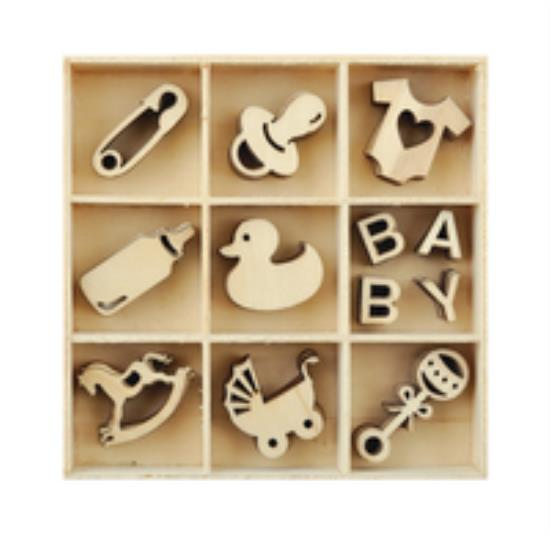 Picture of Kaiser Wooden Flourishes - Baby