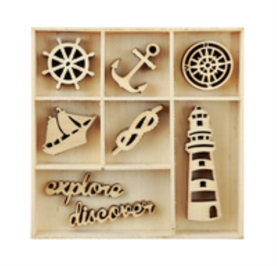 Picture of Kaiser Wooden Flourishes - Nautical