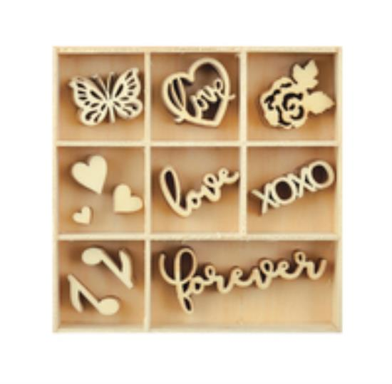 Picture of Kaiser Wooden Flourishes - Love