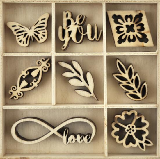 Picture of Kaiser Wooden Flourishes - Be You