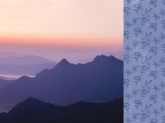 Picture of Misty Mountains - Sunset