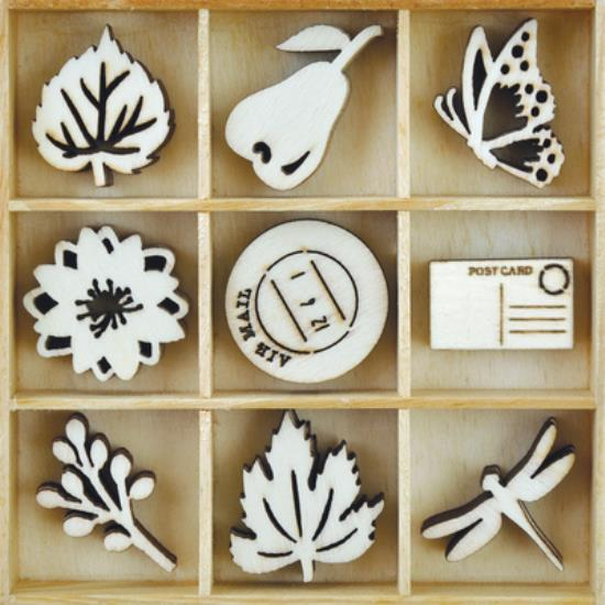 Picture of Kaiser Wooden Flourishes - Harvest