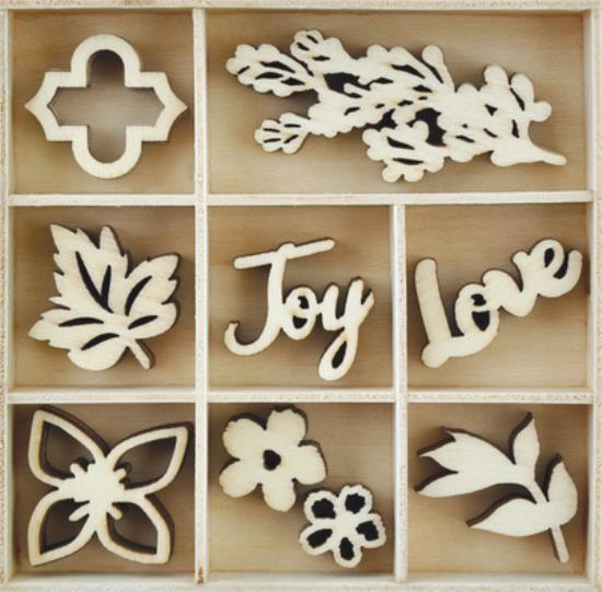 Picture of Kaiser Wooden Flourishes - Bouquet