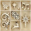 Picture of Kaiser Wooden Flourishes - Fancy Christmas