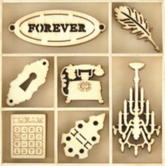 Picture of Kaiser Wooden Flourishes - Treasures