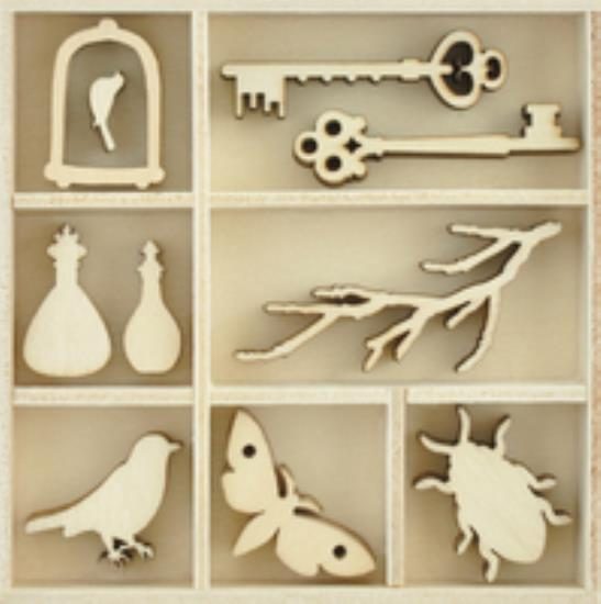 Picture of Anthology Wooden Flourish - Curiosities