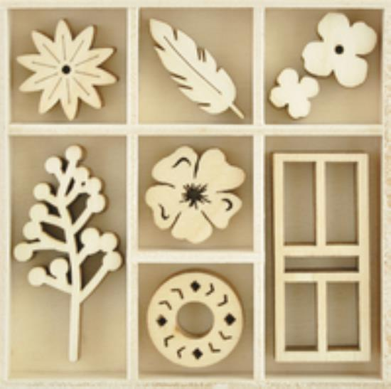 Picture of Gypsy Rose Wooden Flourishes - Collected