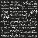 Picture of Peace & Joy Specialty Paper Clear Gloss - Joyful