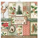 "Picture of Stamperia WInter Botanic 12"" Paper Pad 10Pk"