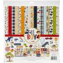 "Picture of Echo Park All Boy - 12"" 12 Double Sided Papers & Sticker Sheet"
