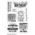 Picture of MFT Birthday Greetings Stamp