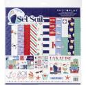 """Picture of PhotoPlay Set Sail - 12"""" 12 Double Sided Papers & Sticker Sheet"""