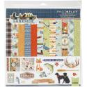 """Picture of PhotoPlay Lakeside - 12"""" 12 Double Sided Papers & Sticker Sheet"""