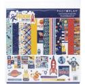 """Picture of PhotoPlay To The Moon And Back - 12"""" 12 Double Sided Papers & Sticker Sheet"""