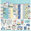 """Picture of PhotoPlay Let's Go - 12"""" 12 Double Sided Papers & Sticker Sheet"""