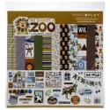 """Picture of PhotoPlay We Bought A Zoo - 12"""" 12 Double Sided Papers & Sticker Sheet"""