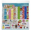 """Picture of PhotoPlay Aloha - 12"""" 12 Double Sided Papers & Sticker Sheet"""