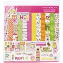 """Picture of PhotoPlay Birthday Girl Wishes - 12"""" 12 Double Sided Papers & Sticker Sheet"""