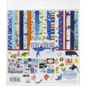 """Picture of Carta Bella Fish & Friends - 12"""" 12 Double Sided Papers & Sticker Sheet"""