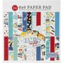 """Picture of Carta Bella Family Night 6"""" 24 Double Sided Papers"""