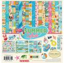 """Picture of Carta Bella Summer Splash - 12"""" 12 Double Sided Papers & Sticker Sheet"""