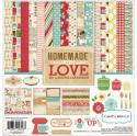 """Picture of Carta Bella Homemade With Love - 12"""" 12 Double Sided Papers & Sticker Sheet"""