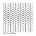 Picture of MFT Background - Honeycomb Stamp
