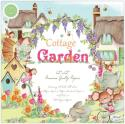 "Picture of Craft Consortium Double Sided Paper Pad 12"" 40 Sheets - Cottage Garden"