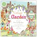 "Picture of Craft Consortium Double Sided Paper Pad 6"" 40 Sheets - Cottage Garden"