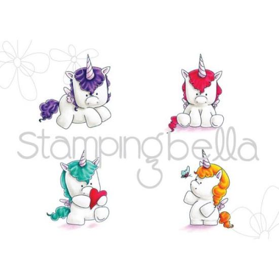 Picture of Stamping Bella - Set of Unicorn Stamps