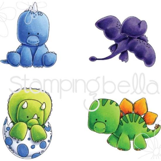 Picture of Stamping Bella - Set of Dinosaur Stamps