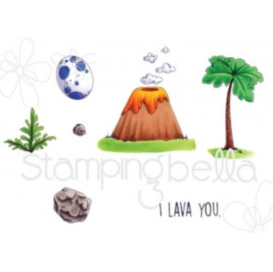 Picture of Stamping Bella - Cave Kids Add On Stamp Set