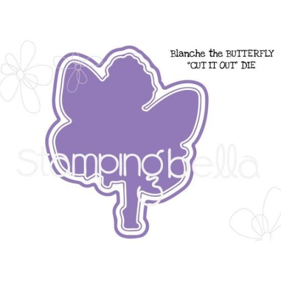 Picture of Stamping Bella - Butterfly Girl - Blanche Die