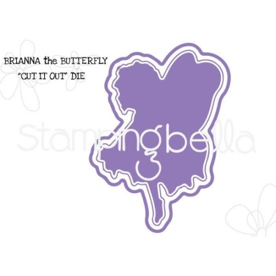 Picture of Stamping Bella - Butterfly Girl - Brianna Die