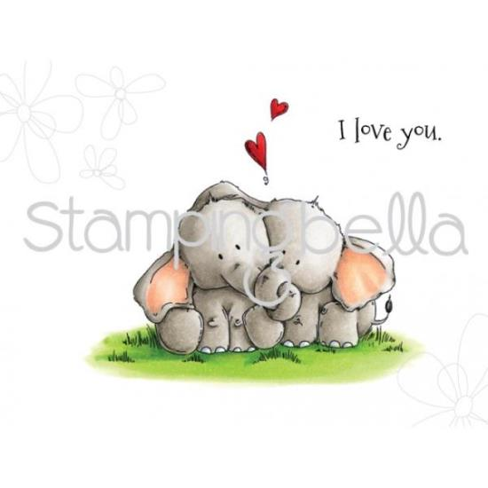 Picture of Stamping Bella - Ellie loves Phant Stuffies Stamp