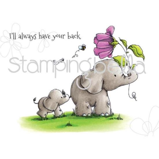 Picture of Stamping Bella - I'll Always Have Your Back Stuffies Stamp