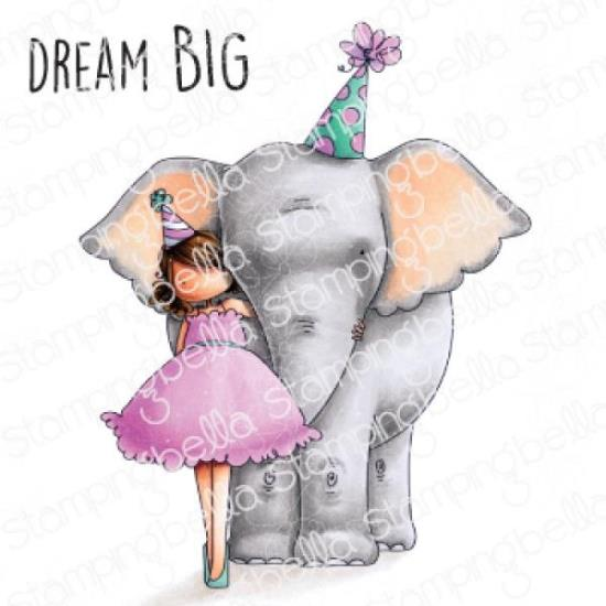 Picture of Stamping Bella - Tiny Townie with an Elephant Stamp