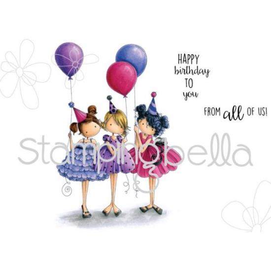 Picture of Stamping Bella - Tiny Townie Birthday Party Stamp